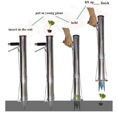 plantadores de hortalizas manual de mano plantador de semillas vegetales semillero