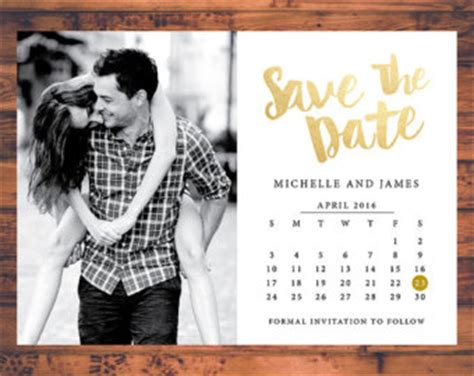 Cheap Calendar Save The Dates Wedding Save The Dates Etsy