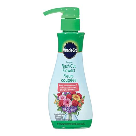 Cut Flowers Food | miracle gro fresh cut flowers liquid food 236 ml