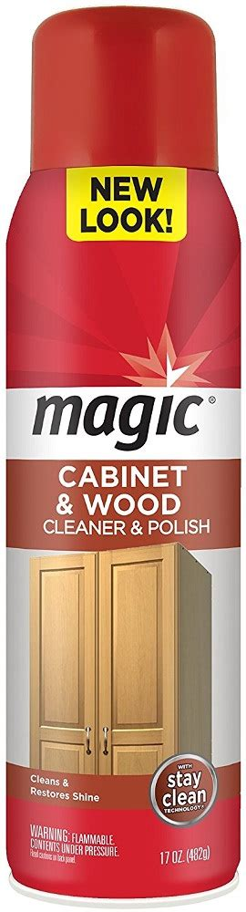 magic cabinet and wood cleaner magic cabinet wood cleaner 17oz ma3063 cleaning