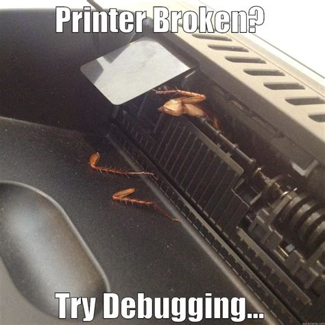 Printer Meme - broken printer meme memes