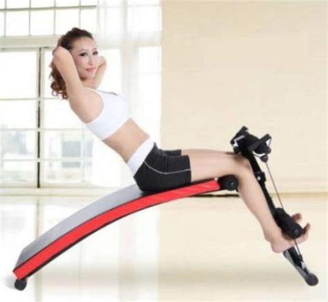 Alat Olahraga Untuk Sit Up Alat Fitness Exercise Sit Up Bench Papan Olahraga