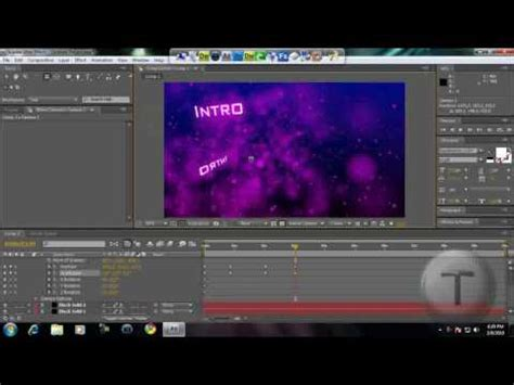 tutorial intro adobe after effects cs4 how to create a cool intro in adobe after effects cs4