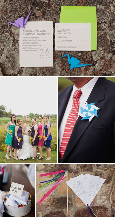 1000 Origami Cranes Wedding - 1000 origami paper crane wedding