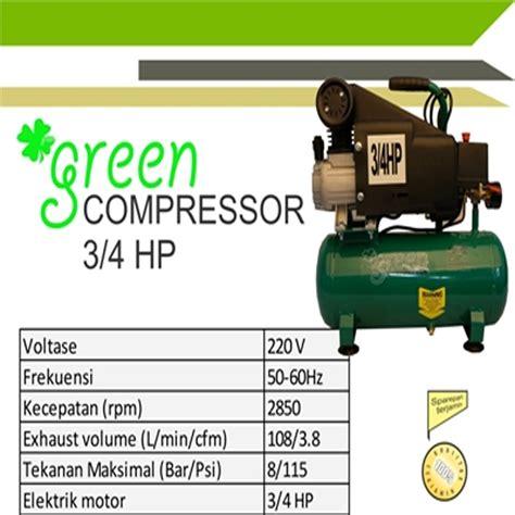 Kompresor Green Harga Jual Green G Ac1012 3 4 Kompresor Angin Udara