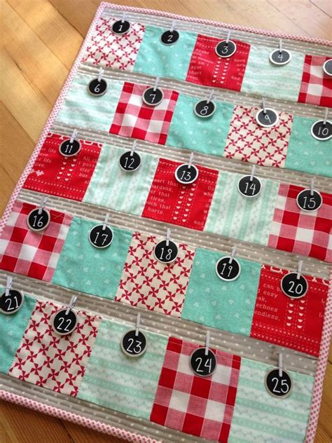Patchwork Advent Calendar Pattern - it s to believe it s almost mid december already
