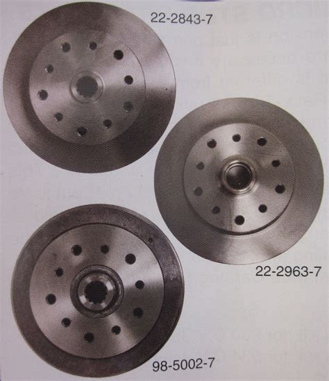 pattern seven exles disc brake rotor rear 5 x 130 5 x 4 75 quot irs or swing