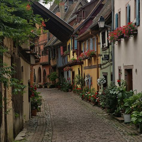 quaint town names ellergy picturesque medieval european towns villages