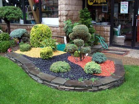 colored rocks for landscaping home garden ideas garden ideas
