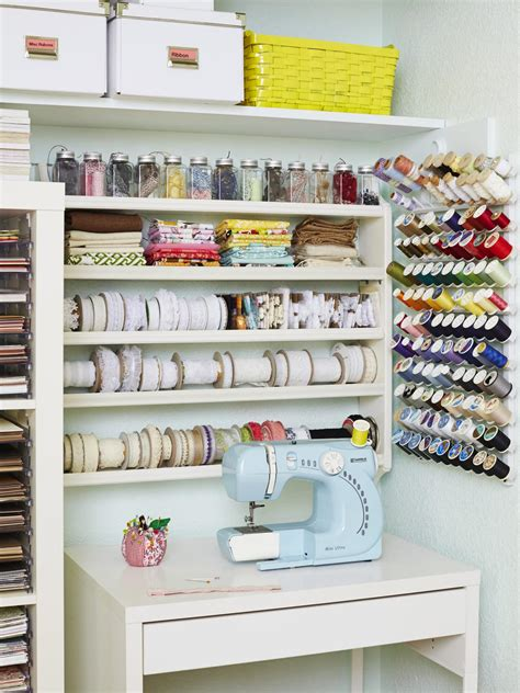 craft room storage solutions 12 creative craft or sewing room storage solutions diy