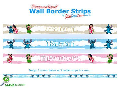 lilo and stitch border superduperdecor