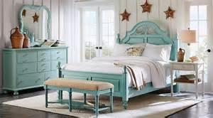 seaside bedroom furniture home seaside blue green low poster 5 pc