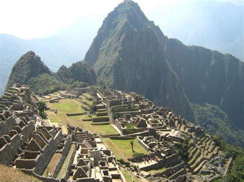 imagenes de noticias sorprendentes machu picchu entre los 10 lugares sorprendentes del