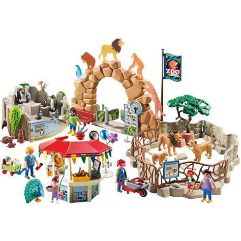playmobil large city zoo 692758579961 ebay