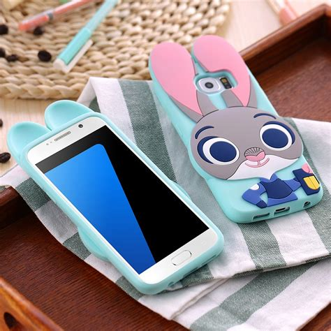 Samsung J1 Ace Soft Silicon Back Cover 3d Teddy Tpu 3d bunny judy rabbit soft silicone back cover for samsung galaxy s3 s4 s5 s6 s7 s7
