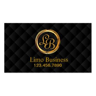 Limousine Business Cards Template by Limo Business Cards Templates Zazzle