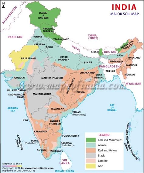 what does the color black on a map illustrate part 5 indian soils arid saline and alkaline peaty