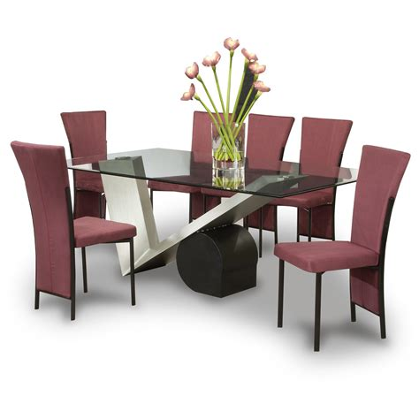 Modern Dining Tables And Chairs Modern Dining Table Designs Modern Dining Sets In White And Black Fulgurant Photos In Room