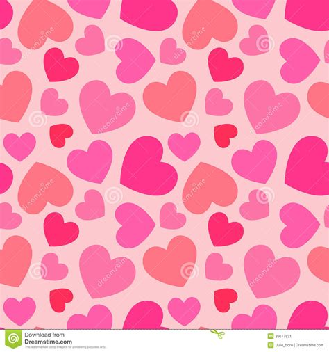 z pattern heart sounds pink heart seamless pattern stock vector illustration of