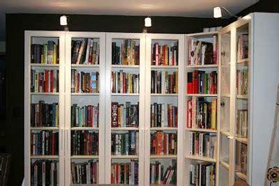 in idleness bookshelf lighting