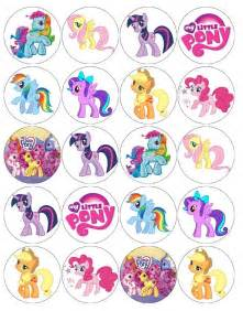 gallery for gt my little pony cupcake toppers printable