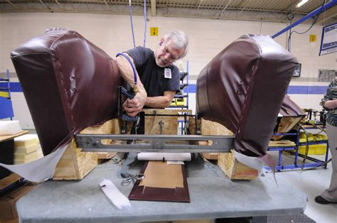 upholstery training programs top 10 plant la z boy s dayton site wins industry week