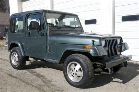 Jeep Wrangler 2 Door Wheel Base No Reserve 1994 Jeep Wrangler S Sport Utility 2 Door 2 5l