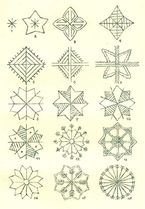pattern znaczenie traditional design of the lublin region popular motifs
