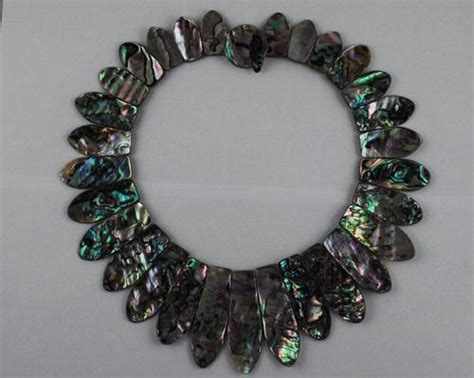 how to make abalone jewelry abalone necklace 003 trading company