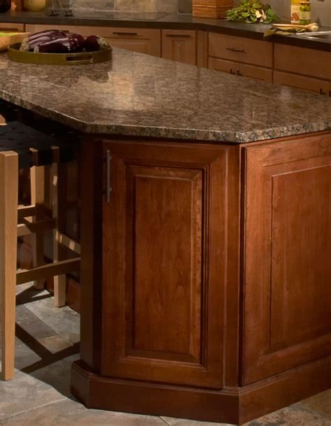 End Corner Kitchen Cabinets Base End Angle Cabinet Cliqstudios Traditional Kitchen Cabinetry Minneapolis By