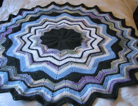 free crochet patterns for round ripple afghan crochet janelwashere round ripple crochet afghan pattern