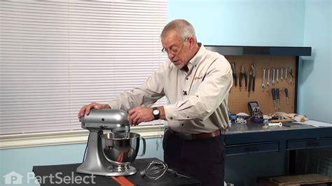Stand Mixer Repair   Replacing the Dough Hook (Whirlpool