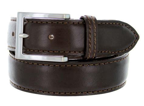 s029 35 s italian leather dress casual belt 1 3 8