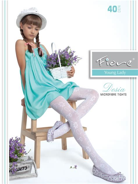 s fiore fiore childrens tights with flower pattern dosia
