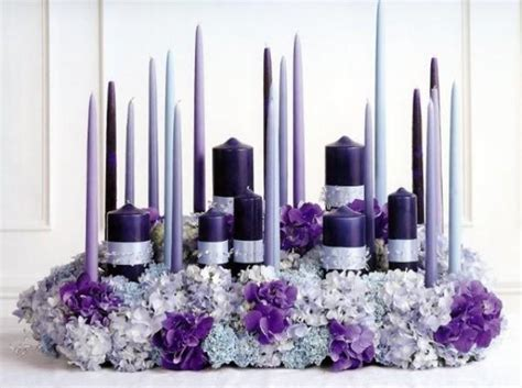 Decor Wedding Ideas For Forever Two Hearts 2302123 Purple And Silver Wedding Centerpiece Ideas