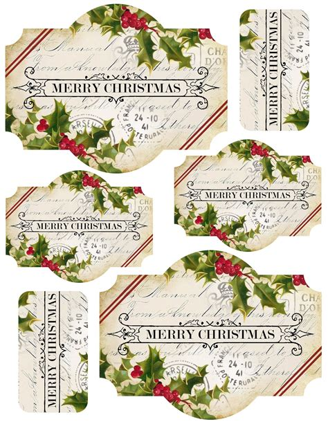 free printable christmas gift tags for food lilac lavender november 2012