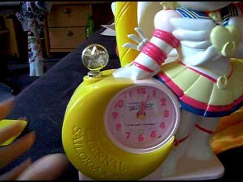 eternal sailor moon alarm clock with sound