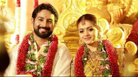 film actress marriage photos malayalam actress bhavana gets hitched to kannada producer