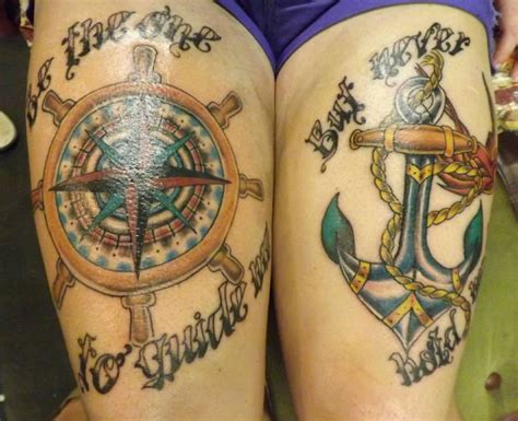 tattoo guide 20 awesome anchor and compass entertainmentmesh