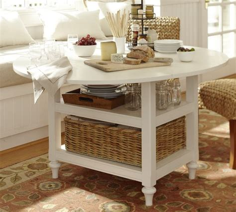 Pottery Barn Kitchen Tables pottery barn shayne drop leaf kitchen table in antique white