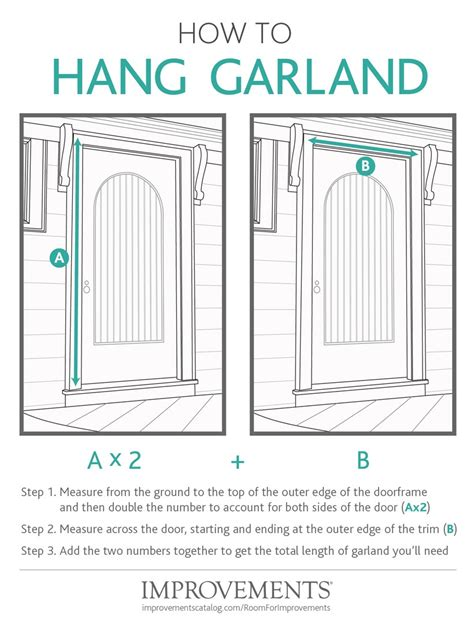 how to hang something without nails how to hang garland improvements