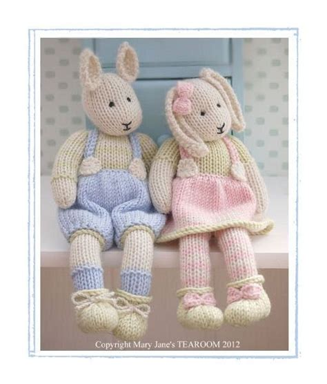 knitting pattern rabbit toy toy knitting patterns free download crochet and knit