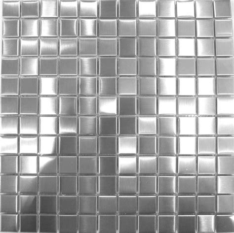 Fliesenkleber Kosten Pro M2 by Geb 252 Rstete Edelstahl Mosaikfliesen Silber F 252 R Wand 30cm