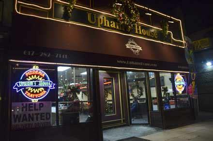 uphams house of pizza menu upham s corner city of boston
