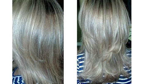 white low lights for grey hair white grey hair with ash blonde lowlights google search