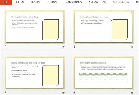 biography templates for powerpoint biography report powerpoint template