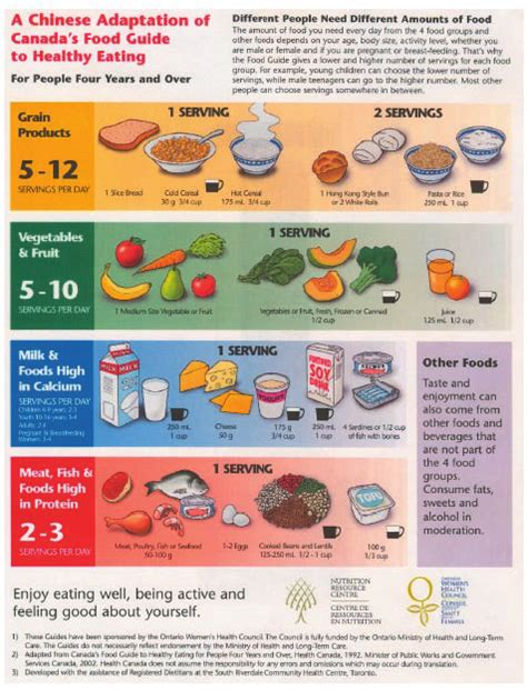 printable version canada s food guide figure 2 a chinese adaptation of canada s food guide to