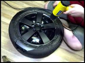 Painting Truck Wheels Black Diy Wrapping Rims In Matte Black Vinyl