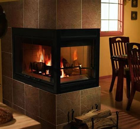 Heatilator Wood Burning Fireplace Insert by Heatilator 42 Inch Three Sided Wood Burning Fireplace