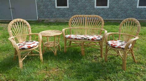 mobili da giardino in vimini arredamento esterno vimini arredamento divani rattan